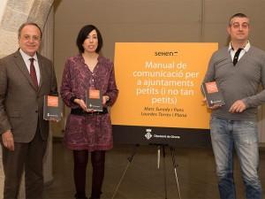 Presentació del Manual de comunicació per a municipis petits (Fotografia del web de la Diputació de Girona)