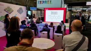 Carol Romero, presenta el nou Consensus 2016 en l'Smart City Expo de Barcelona