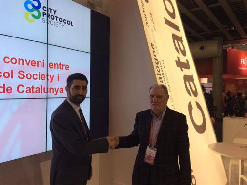 Conveni entre la Generalitat i la City Protocol Society (Fotografia de @dmarcop )