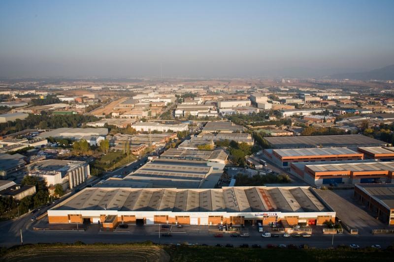 Zona industrial a Polinyà (Fotografia extreta del web l'Ajuntament)