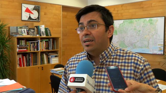 Gerardo Pisarello, primer tinent d'alcalde. (Fotografia de l'Ajuntament de Barcelona)
