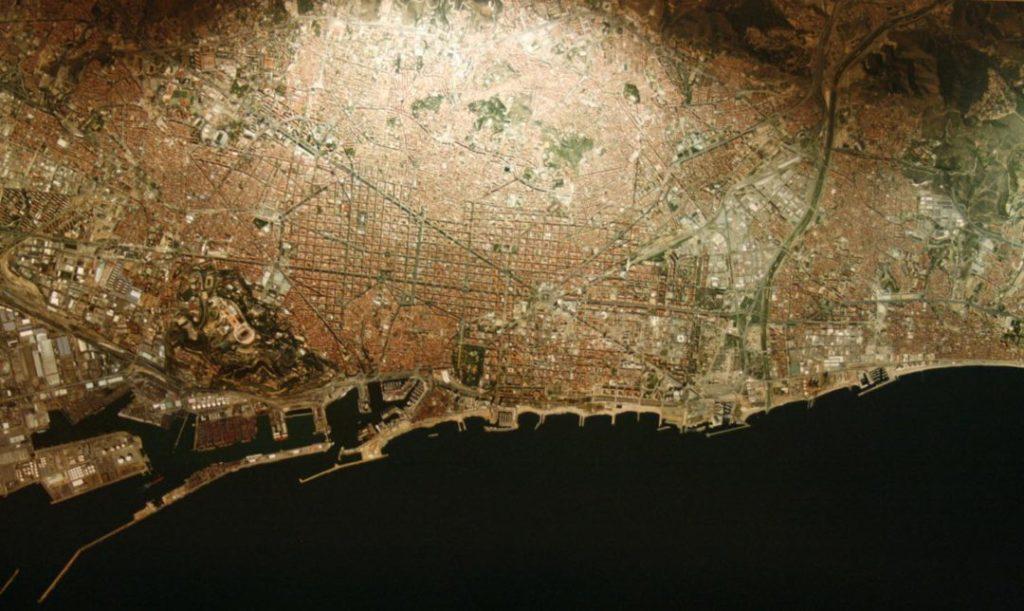 Mapa barcelones