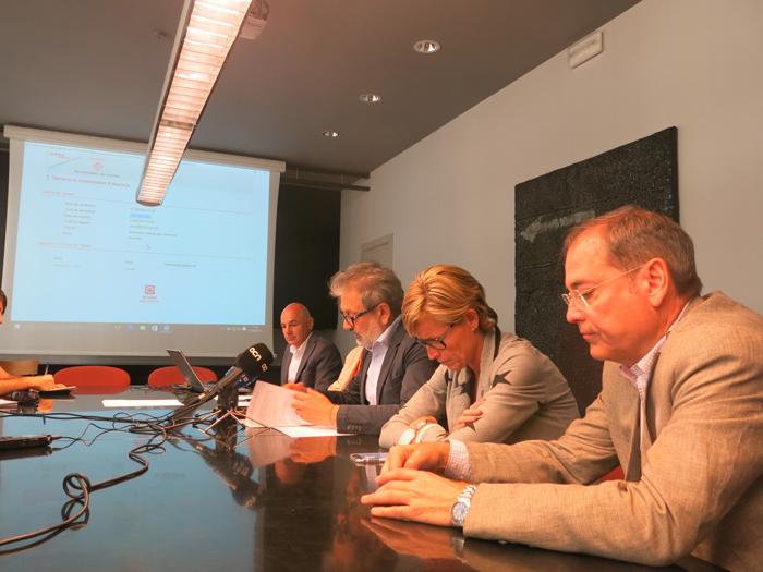 Presentació de la nova plataforma de tramitació electrònica (Foto: Paeria de Lleida)