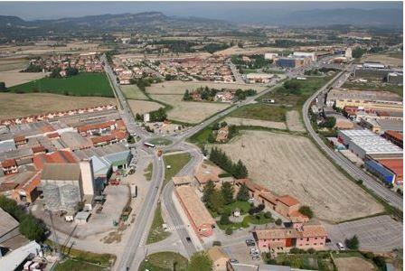 Imatge aèria de Gurb (Fotografia extreta del web municipal)