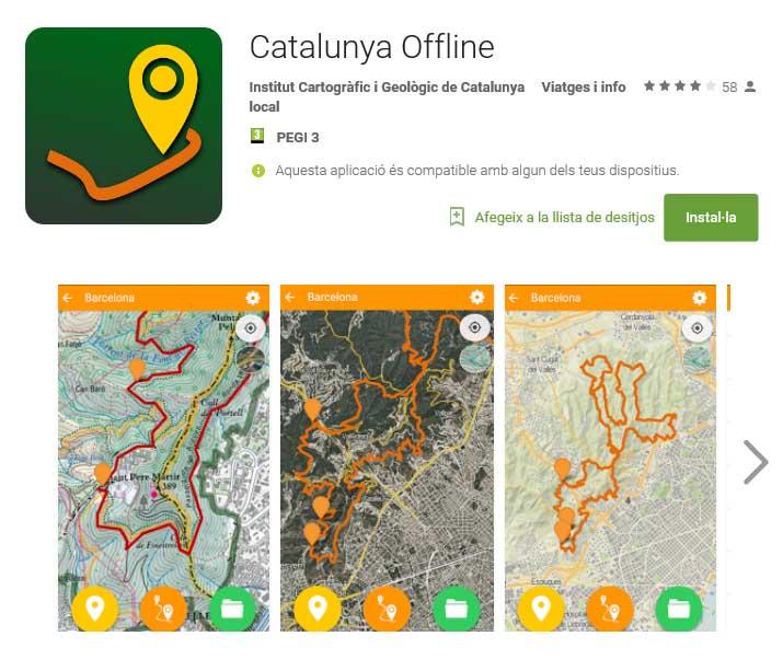 Catalunya Offline App