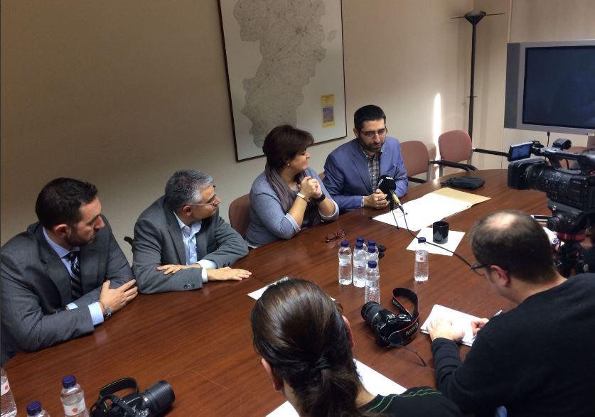 Jordi Puigneró, secretari de Telecomunicacions, Ciberseguretat i Societat Digital de la Generalitat de Catalunya ha presentat al Segrià el Pla d'Extensió de la fibra òptica d'aquesta comarca. (Fotografia @jordiPuignero)